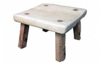 Elm and Oak Stool